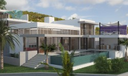 "Villa ""Black Dream"" Vista Alegre"