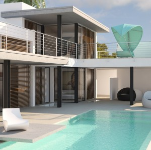 """Villa """"White Dream"""" Vista Alegre"""