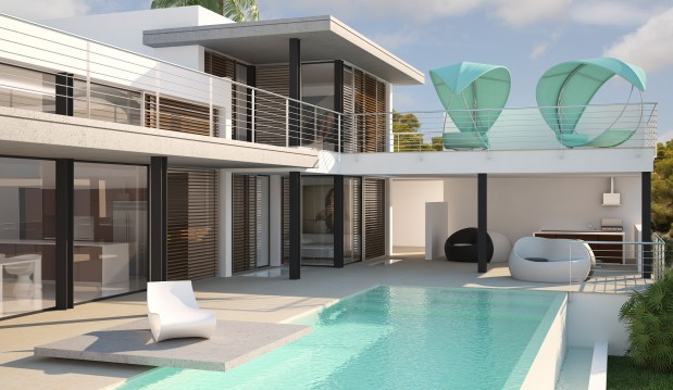 "Villa ""White Dream"""
